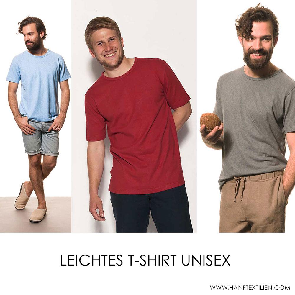 Hanf Shirt unisex als Hanfbekleidung